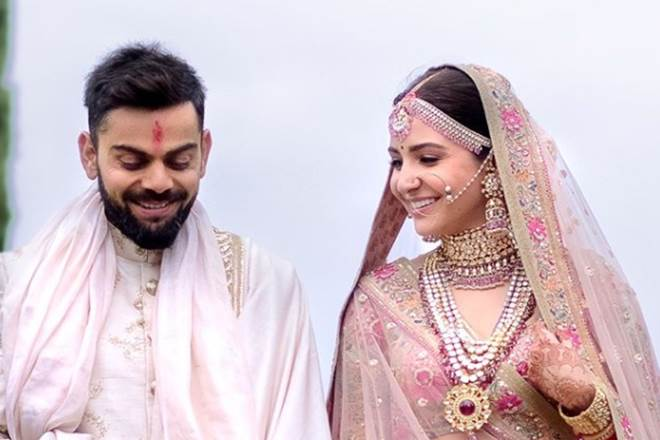 Five pictures Virat Anushka